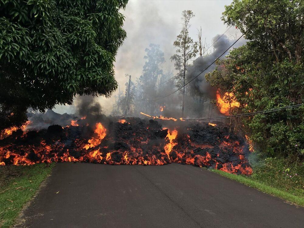 Hawaii'de 2 yeni lav çatlağı