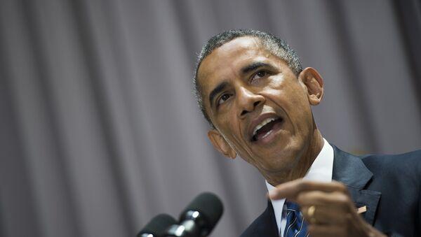 Eski ABD Başkanı Barack Obama - Sputnik Türkiye