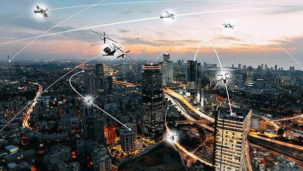 Uçan Taksi-Uber-NASA - Sputnik Türkiye