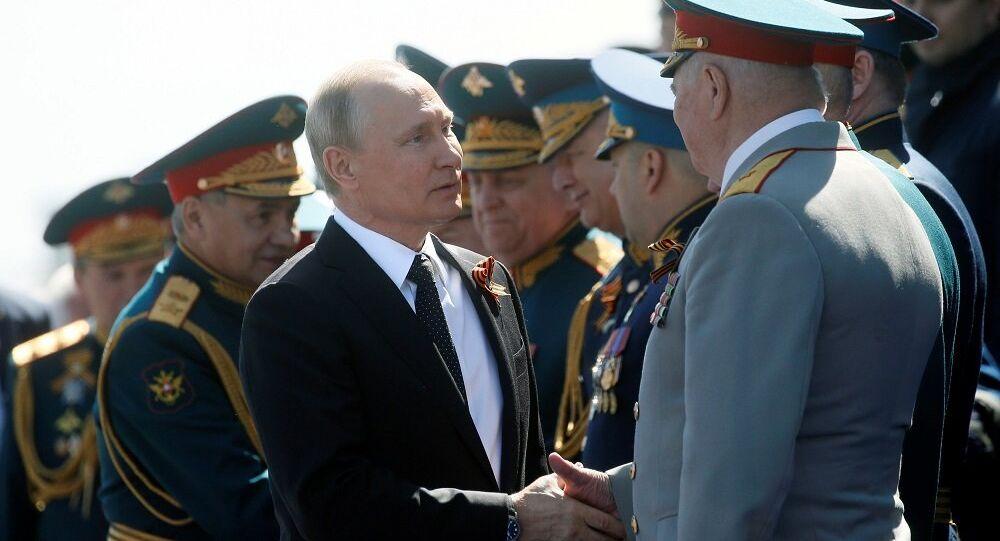 Vladimir Putin, Zafer Bayramı