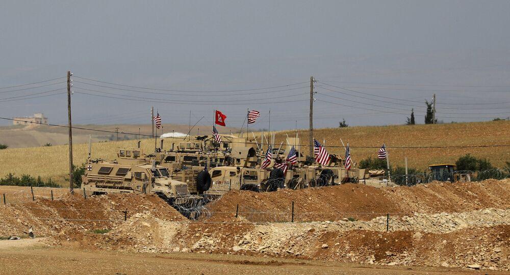 YPG, Halep iline bağlı Menbiç ilçesinin kontrolünü Ağustos 2016'da ABD'nin desteğiyle terör örgütü IŞİD'den almıştı