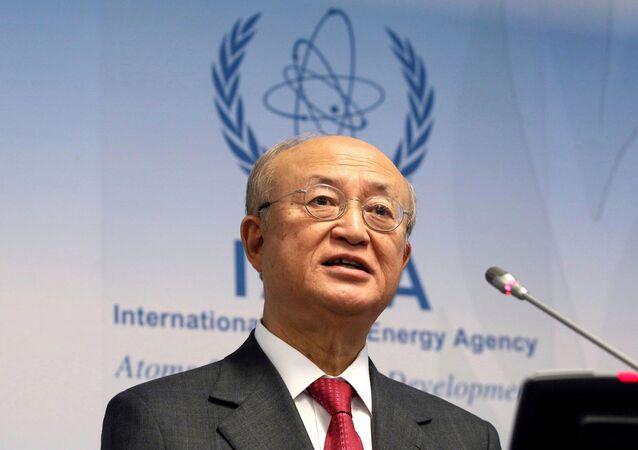 Uluslararası Atom Enerjisi Ajansı Başkanı Yukiya Amano