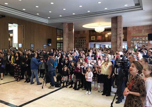 Ankara'da 'Zafer Günü' kutlaması