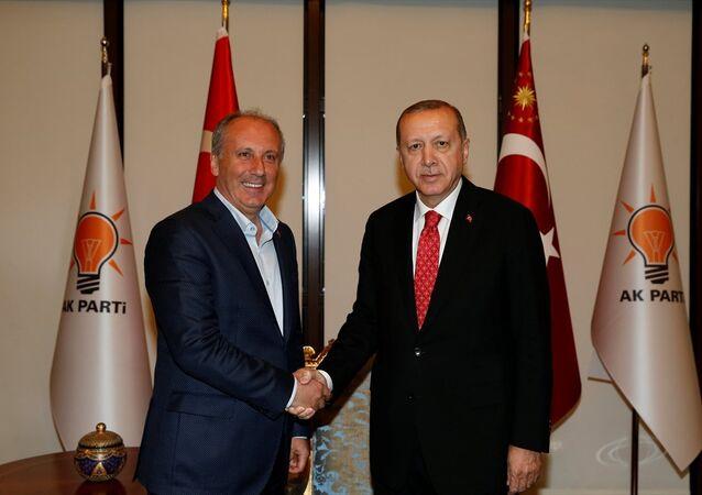 Recep Tayyip Erdoğan ve Muharrem İnce