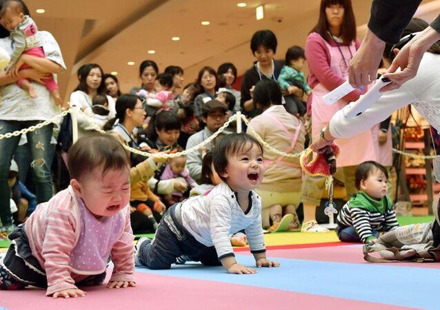 Japonya-çocuk