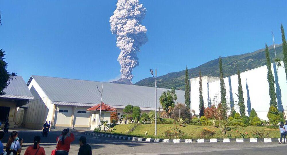 Endonezya-Merapi Yanardağı