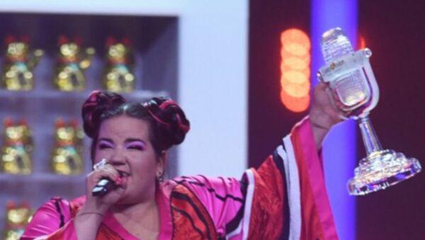 Netta-Toy-İsrail-Eurovision - Sputnik Türkiye