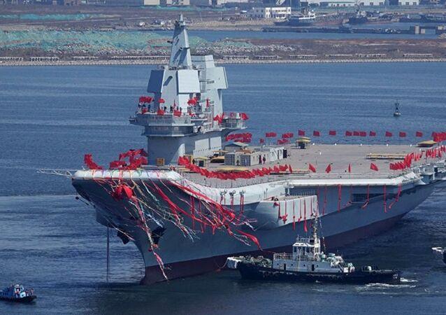 Çin'in ilk yerli üretim uçak gemisi