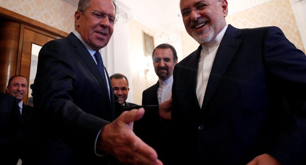 Rusya Dışişleri Bakanı Sergey Lavrov- İran Dışişleri Bakanı Muhammed Cevad Zarif