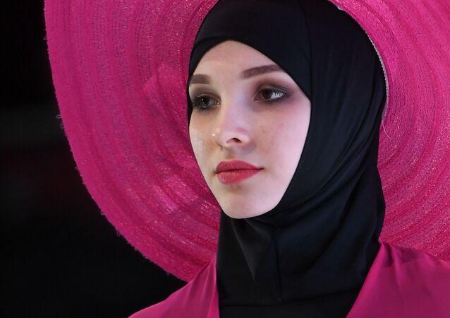 Kazan'daki Müslüman Giysileri Festivali