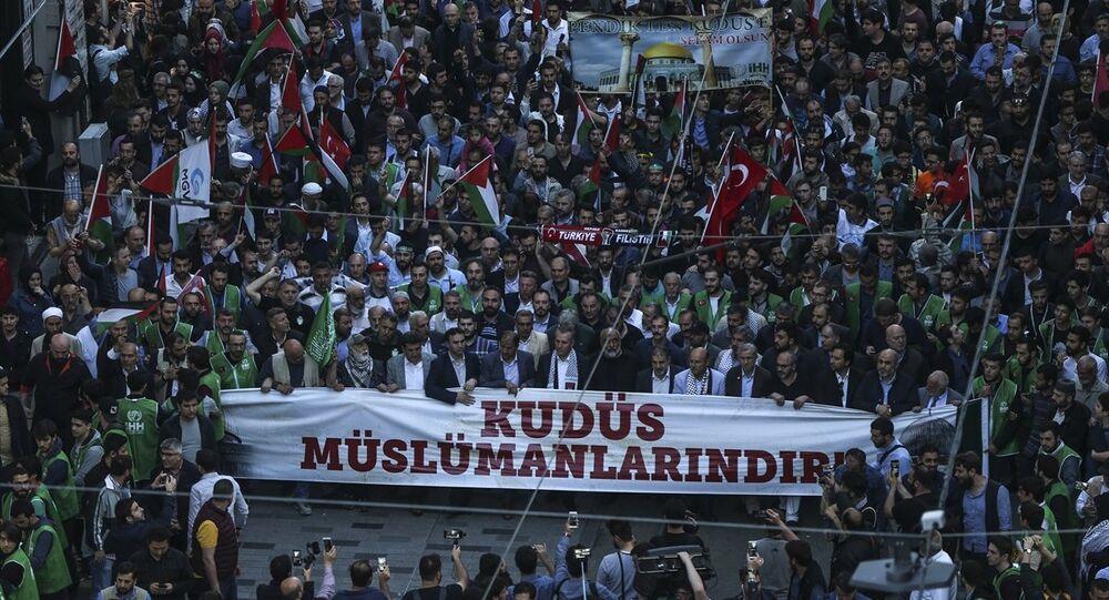 İstanbul'da Kudüs eylemi