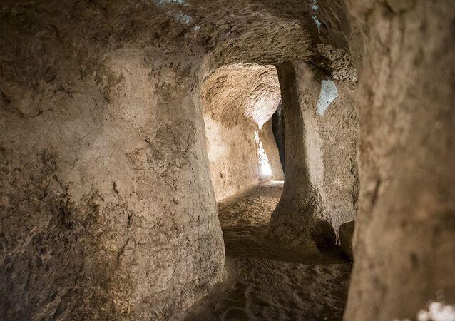 İran'daki Nuşabad yeraltı şehri