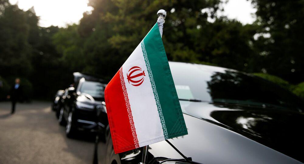 Çin'deki İran heyetinin konvoyu