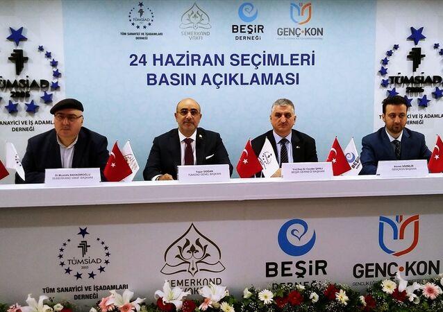 TÜMSİAD'dan Erdoğan ve Cumhur İttifakı'na destek