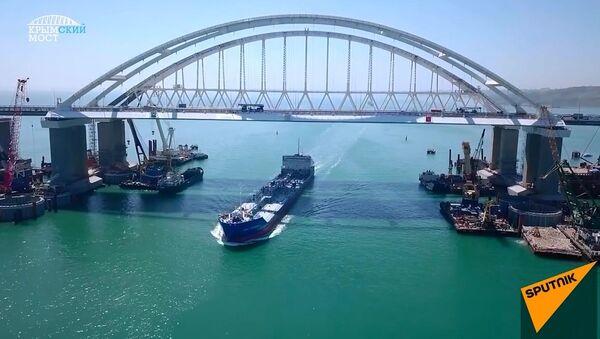 Sayılarla Kırım Köprüsü - Sputnik Türkiye