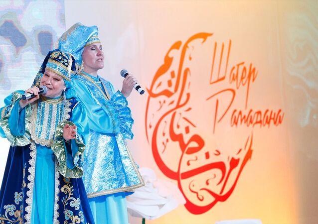 Rusya'da Müslümanların ilk iftarı