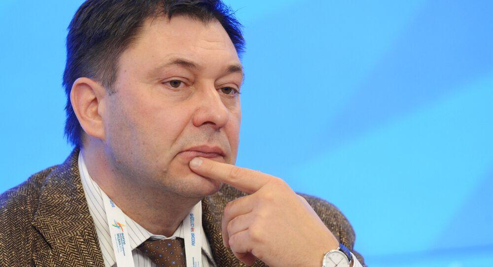 RİA Novosti Ukrayna Genel Yayın Yönetmeni Kiril Vışinskiy