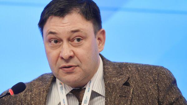 RİA Novosti Ukrayna Genel Yayın Yönetmeni Kiril Vışinskiy - Sputnik Türkiye