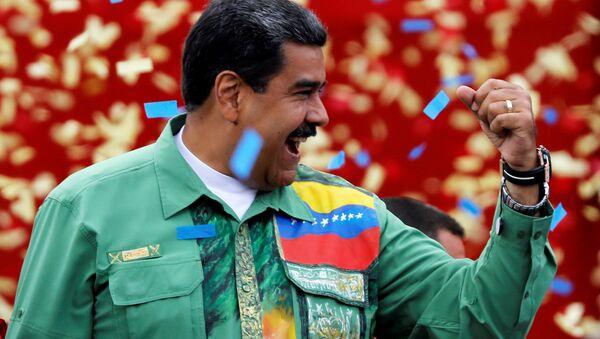 Venezüella Devlet Başkanı Nikolas Maduro - Sputnik Türkiye