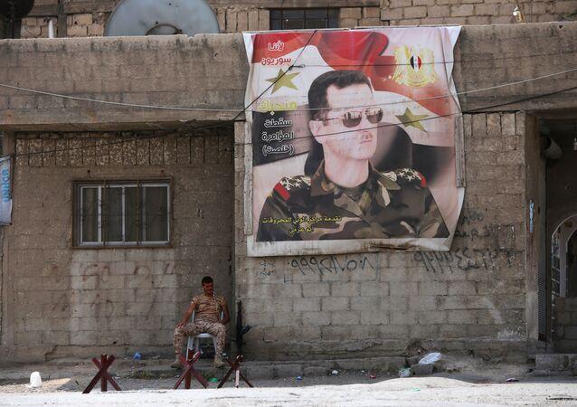 Suriye-Doğu Guta-asker