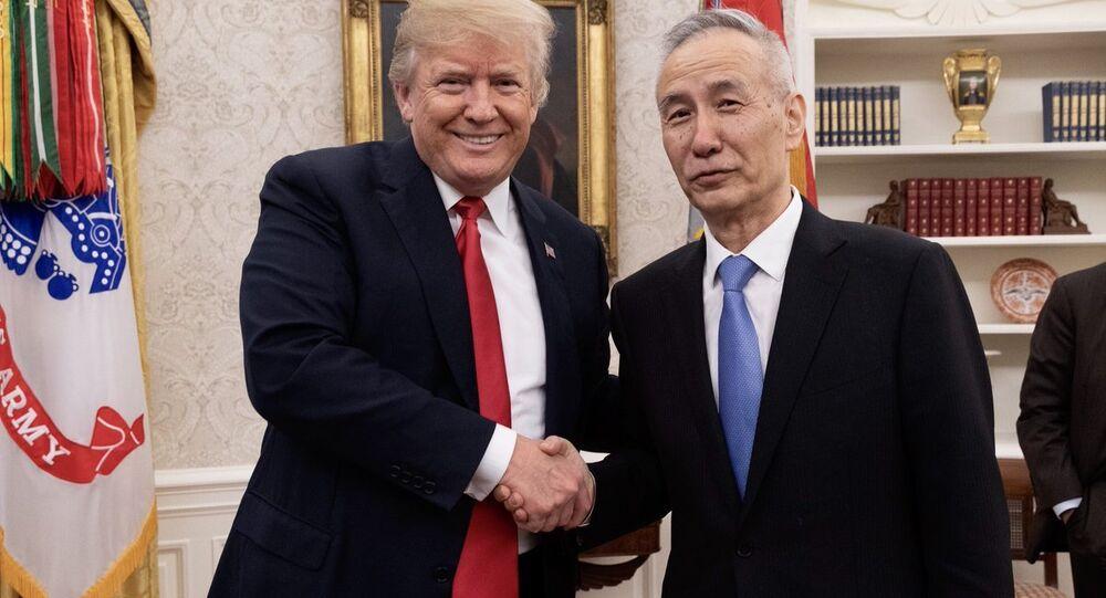 Donald Trump ve Liu He