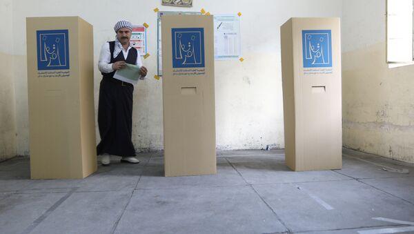 Irak'ta genel seçim - Sputnik Türkiye