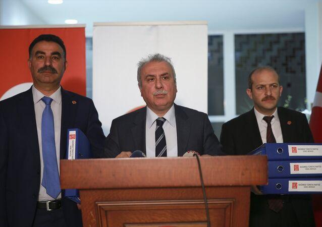 BTP Genel Başkan Yardımcısı Abdullah Terzi