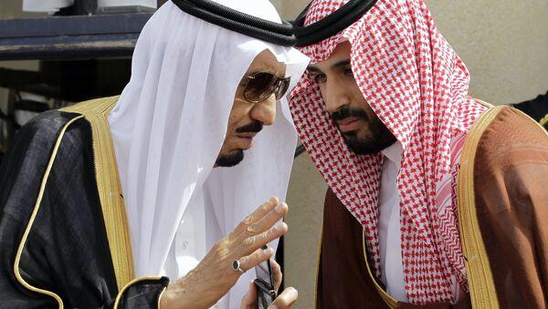 Suudi Kralı Selman ile Veliaht Prensi Selman, arşiv foto (Mayıs 2012), - Sputnik Türkiye