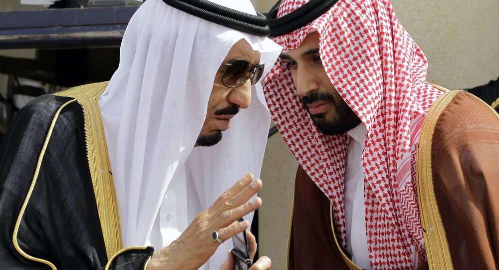 Suudi Kralı Selman ile Veliaht Prensi Selman, arşiv foto (Mayıs 2012),