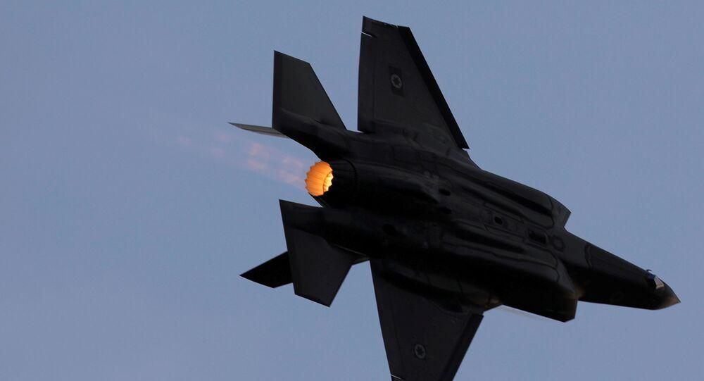 İsrail savaş uçağı
