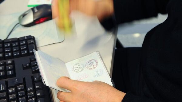 pasaport - Sputnik Türkiye