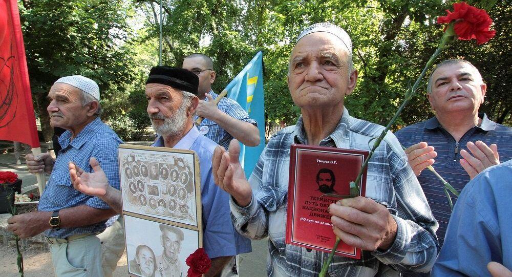 Kırım Tatarları anma