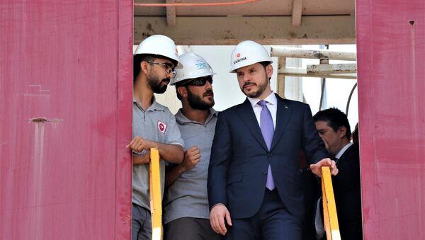 Enerji ve Tabii Kaynaklar Bakanı Berat Albayrak - Sputnik Türkiye