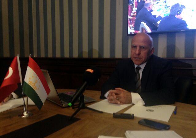 Tacikistan'ın Ankara Büyükelçisi Mahamadali Rajabiyon