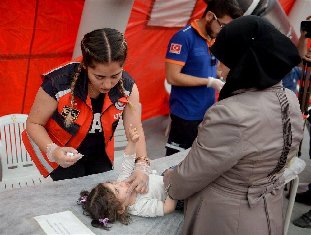 Suriyeli, çocuk, aşı