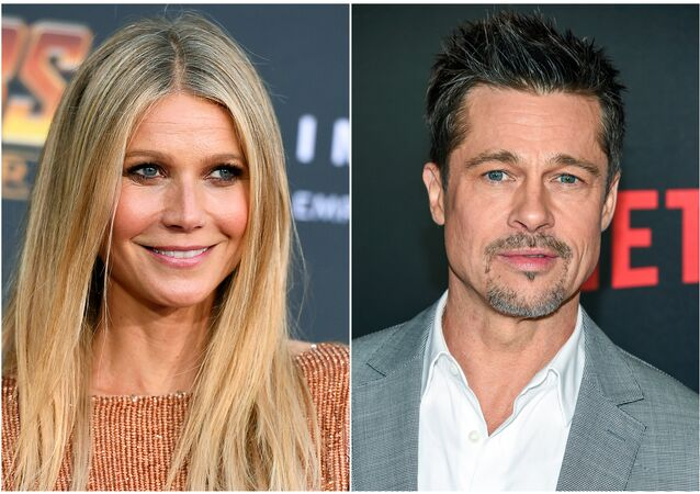 Gwyneth Paltrow-Brad Pitt