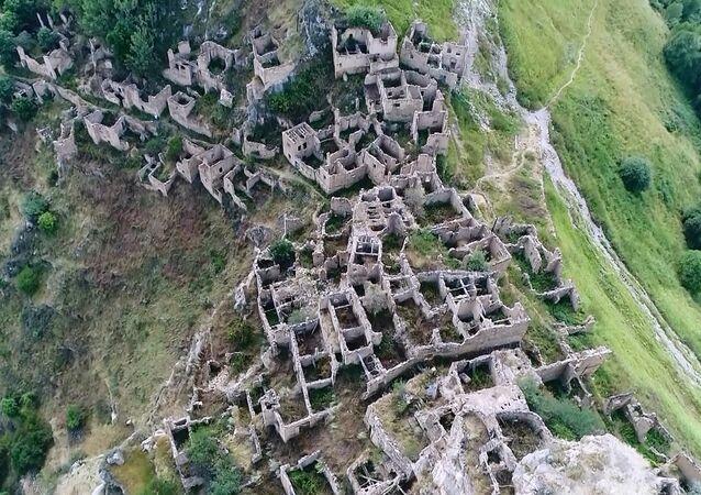 hayalet köyden etkileyici görüntüler