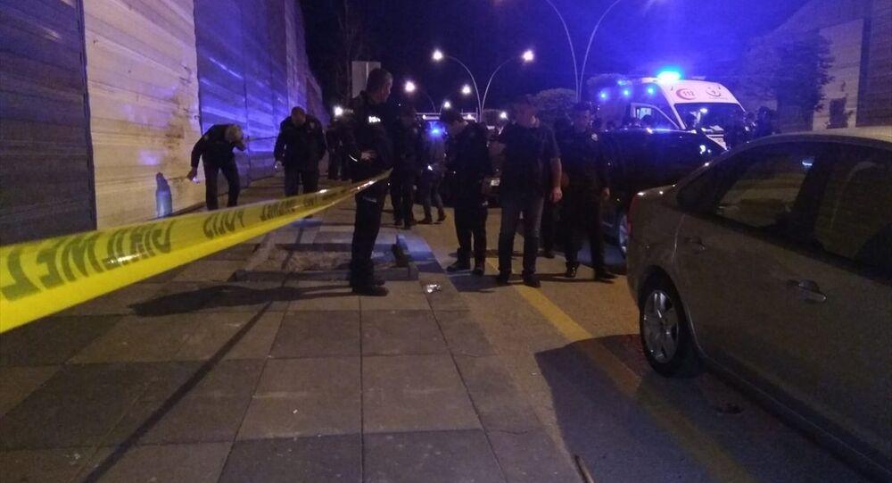 Ankara'da kavga polis olay yeri