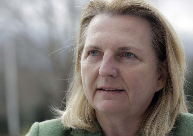 Avusturya Dışişleri Bakanı Karin Kneissl