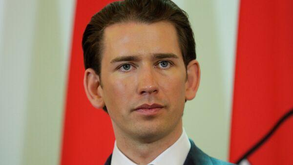 Avusturya Başbakanı Sebastian Kurz - Sputnik Türkiye