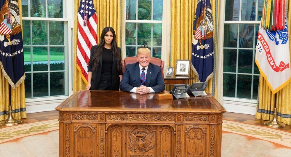 Donald Trump - Kim Kardashian