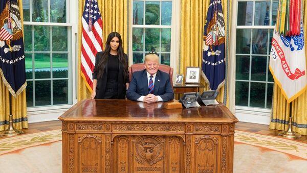 Donald Trump - Kim Kardashian - Sputnik Türkiye