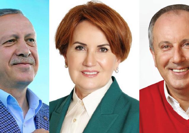 Erdoğan, Akşener, İnce