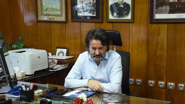 Şişli Hamidiye Etfal Eğitim ve Araştırma Hastanesi'nin başhekimi Prof. Dr. Hacı Mustafa Özdemir - Sputnik Türkiye