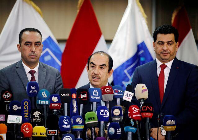 Irak Bağımsız Yüksek Seçim Komisyonu Başkanı Riyad Bedran