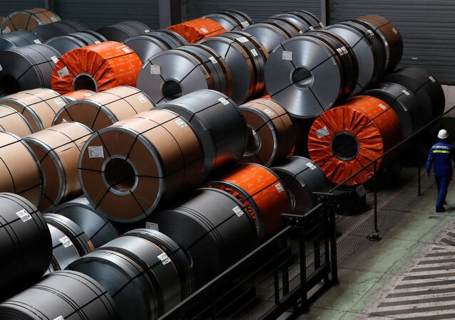 ArcelorMittal çelik fabrikası, Gent, Belçika