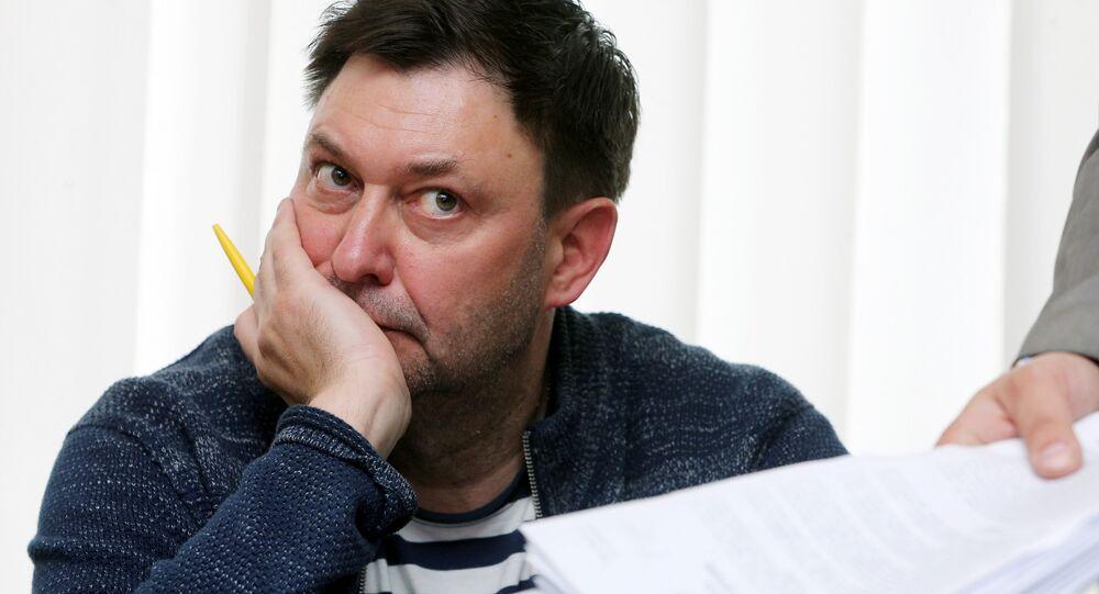 RIA Novosti Ukrayna Genel Yayın Yönetmeni Kirill Vışinskiy
