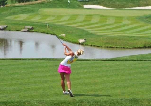 Dünyanın en ateşli kadın golfçüleri