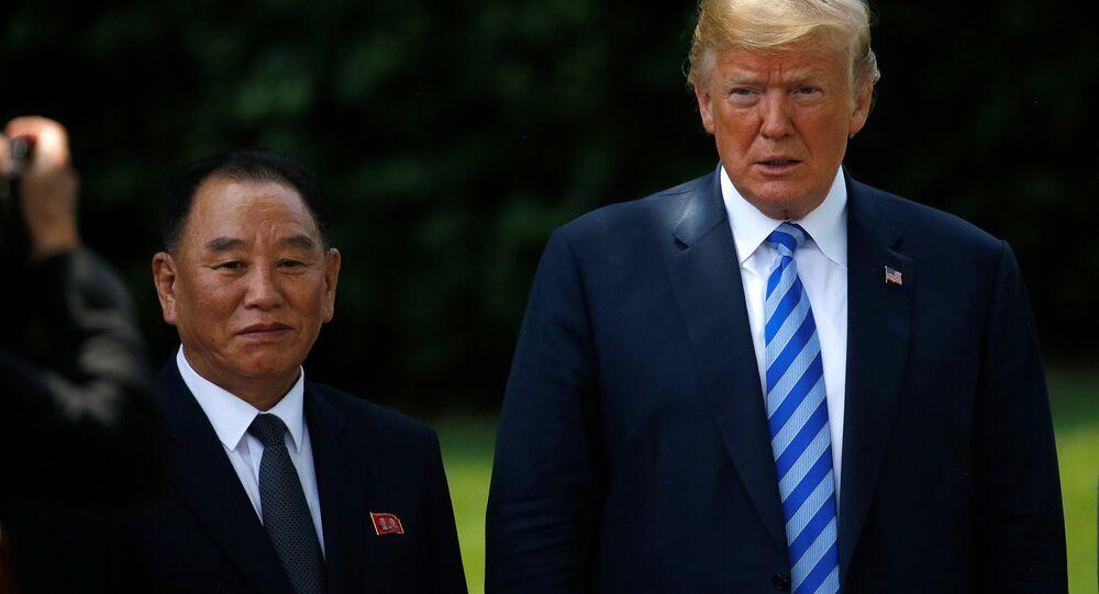 Donald Trump- Kim Yong-chol