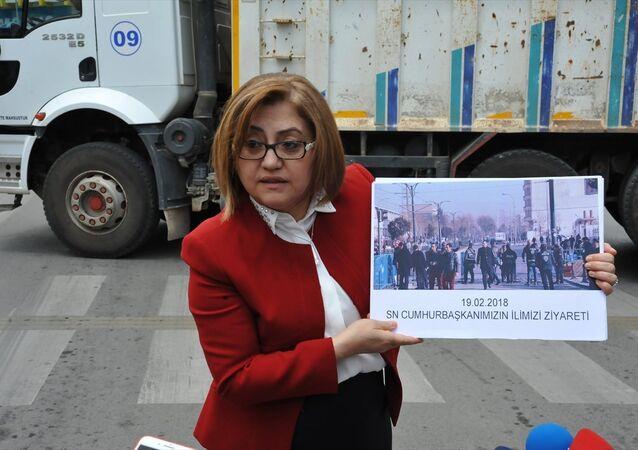 Gaziantep Büyükşehir Belediye Başkanı Fatma Şahin